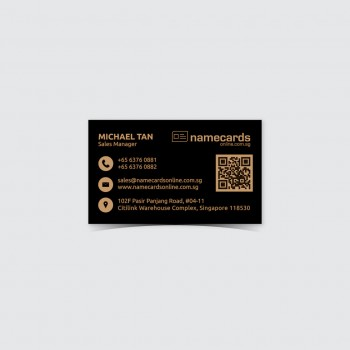 Laser Name Card