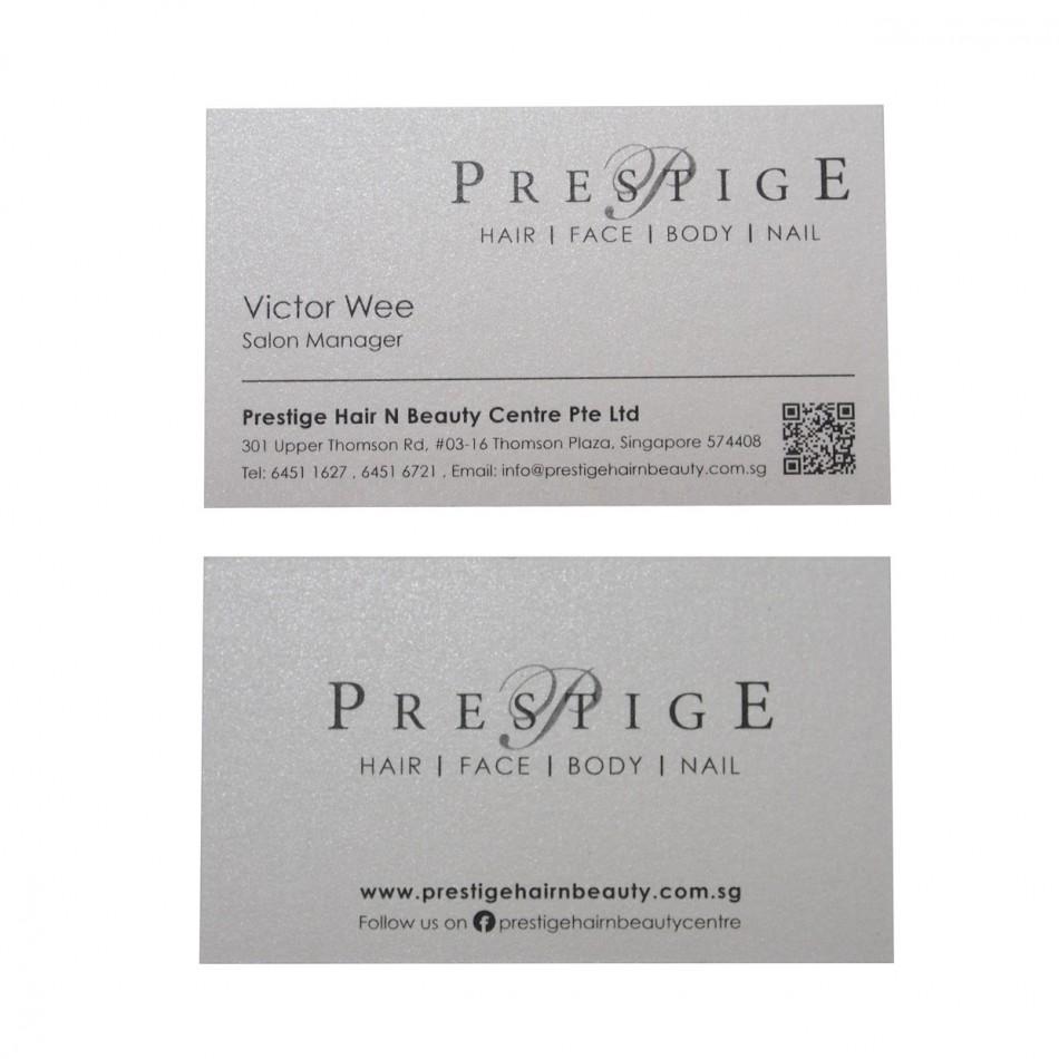Prestige Name Card Stardream Crystal 285gsm