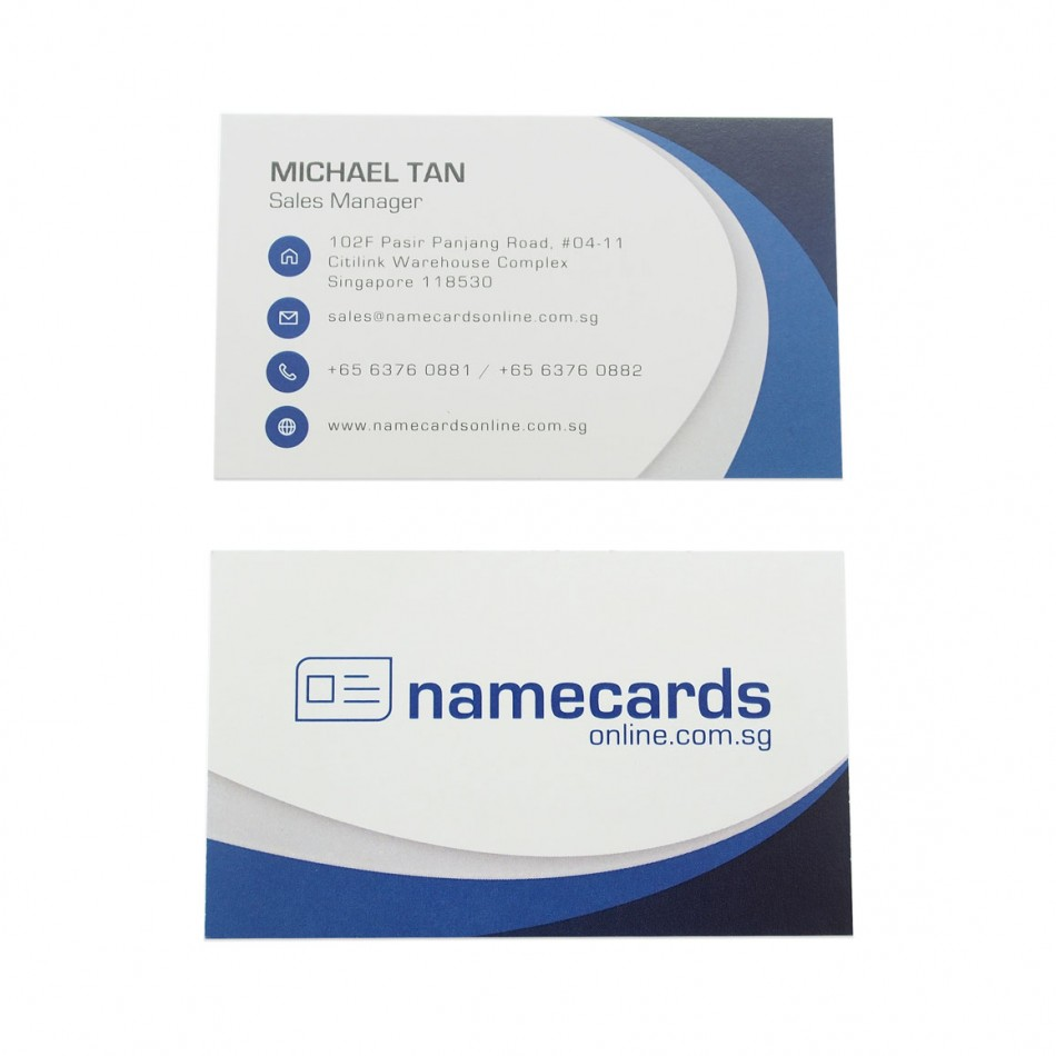 Standard Name Card European Woodfree 300gsm