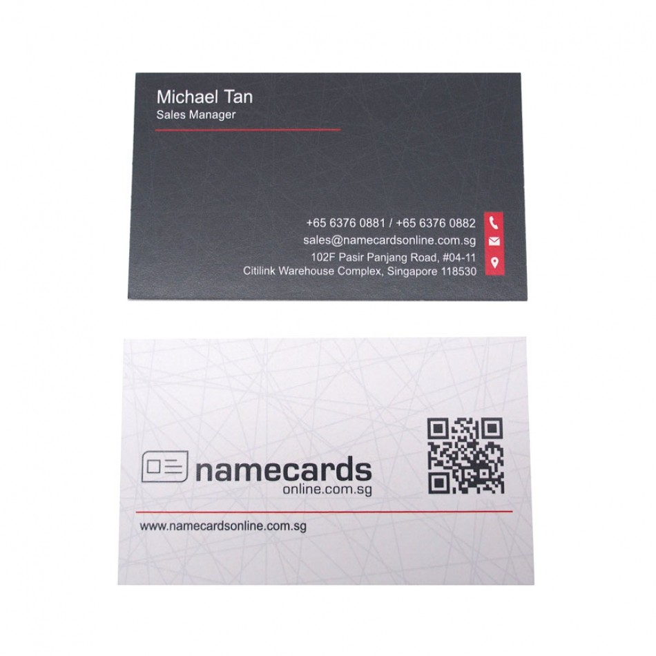 Standard Name Card European Woodfree 250gsm