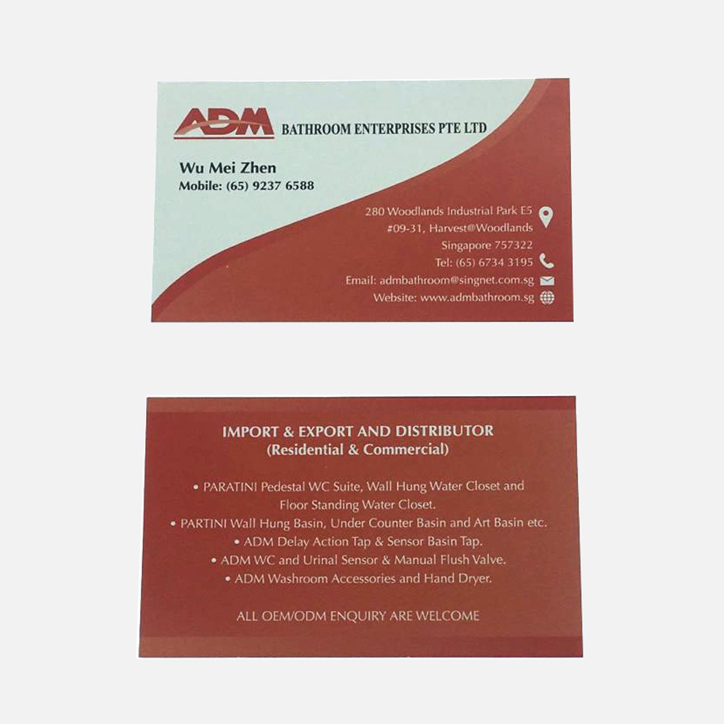 ADM namecard